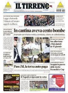 Il Tirreno Livorno - 26 Ottobre 2017