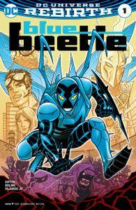 Blue Beetle 001 2016 2 covers Digital Zone-Empire
