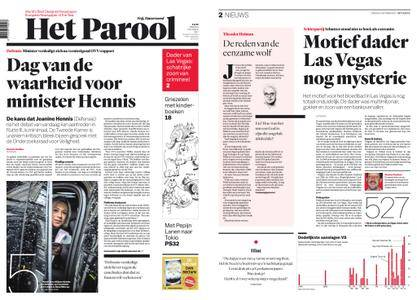Het Parool – 03 oktober 2017