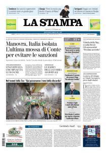 La Stampa Imperia e Sanremo - 15 Novembre 2018