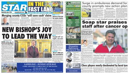 Shropshire Star Shrewsbury Edition – May 08, 2019