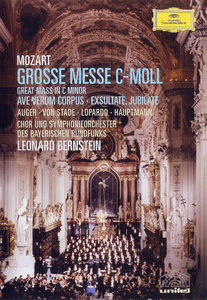 Bernstein - Mozart: Great Mass in C Minor | Ave Verum Corpus | Exsultate Jubilate [DVD9]