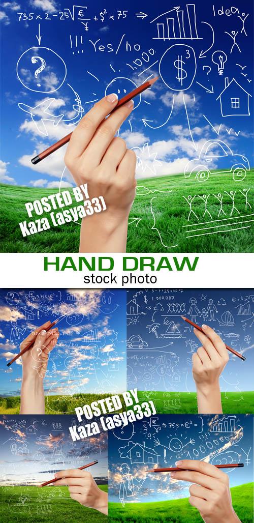 Nature & hand draw