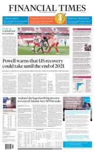 Financial Times Middle East - May 18, 2020