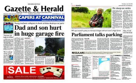 Gazette & Herald – June 28, 2018