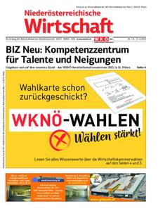 Niederösterreichische Wirtschaft – 21. Februar 2020