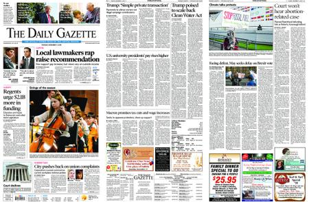 The Daily Gazette – December 11, 2018