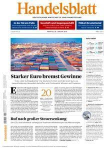 Handelsblatt - 29. Januar 2018
