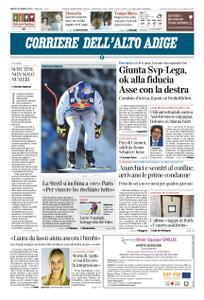 Corriere dell'Alto Adige – 26 gennaio 2019