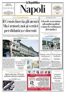 la Repubblica Napoli - 14 Luglio 2020