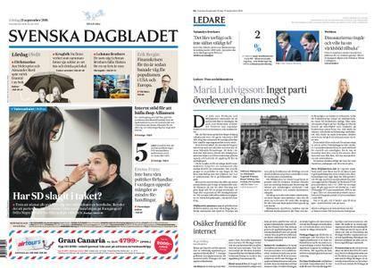 Svenska Dagbladet – 15 september 2018