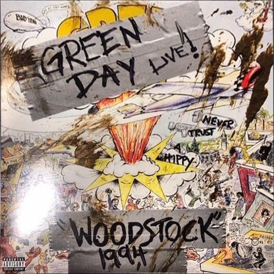 Green Day Woodstock 1994 2019 Vinyl Rip Avaxhome
