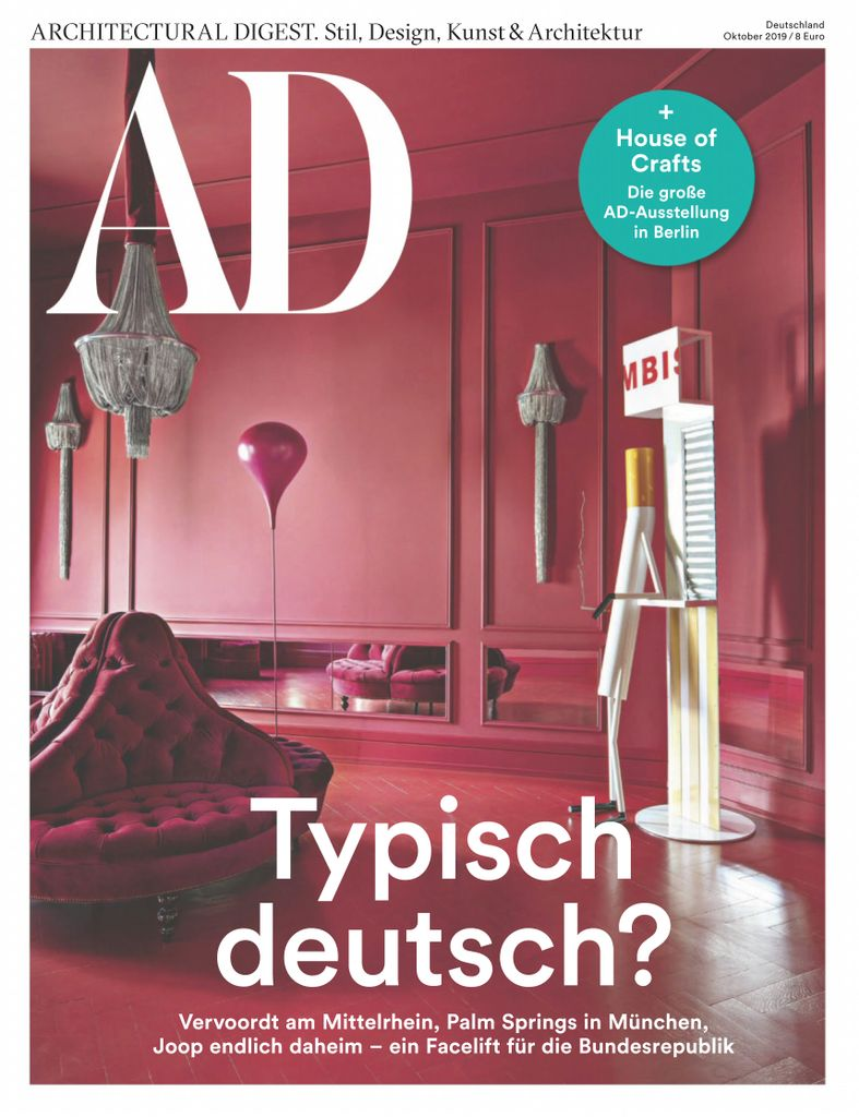 AD Architectural Digest Germany - Oktober 2019