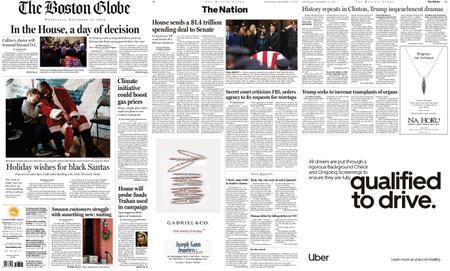 The Boston Globe – December 18, 2019