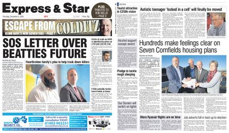 Express and Star City Edition – December 05, 2019
