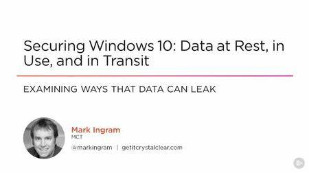Securing Windows 10: Data at Rest, in Use, and in Transit