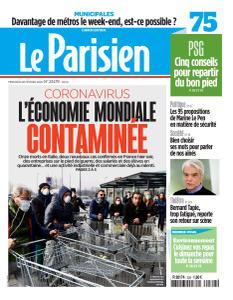 Le Parisien du Mercredi 26 Février 2020