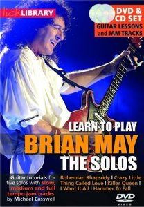 Learn to play Brian May: the Solos [repost]