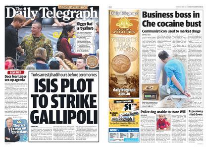 The Daily Telegraph (Sydney) – April 25, 2019
