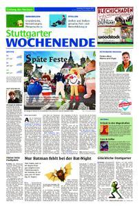 Stuttgarter Wochenende - Entlang des Neckars - 24. August 2019