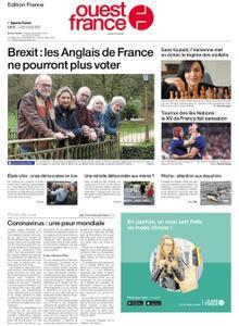 Ouest-France Édition France – 03 février 2020