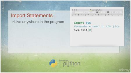 Udemy - Learn Python Programming Language