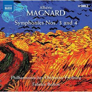 Philharmonisches Orchester Freiburg feat. Fabrice Bollon - Magnard: Symphonies Nos. 3 & 4 (2019) [RE-UP]