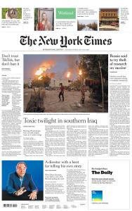 International New York Times - 18-19 July 2020