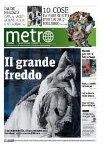 Metro Torino - 10 Gennaio 2017