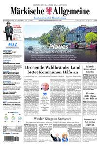 Märkische Allgemeine Luckenwalder Rundschau - 27. April 2019