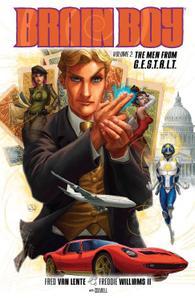 Dark Horse-Brain Boy Vol 02 The Men From G E S T A L T 2015 Retail Comic eBook
