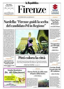 la Repubblica Firenze – 12 giugno 2019