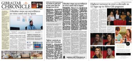 Gibraltar Chronicle – 29 February 2020