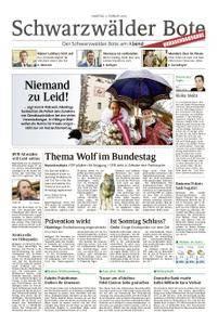 Schwarzwälder Bote Hechingen - 03. Februar 2018