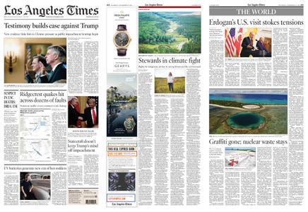 Los Angeles Times – November 14, 2019