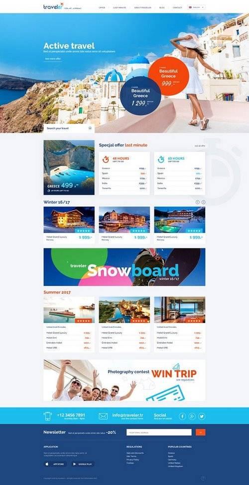 CM - Travel Agency - beautiful design 1145700