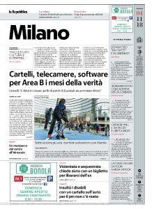 la Repubblica Milano - 4 Novembre 2018