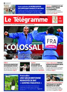 Le Télégramme Brest Abers Iroise – 01 août 2021