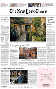 International New York Times - 22 July 2020