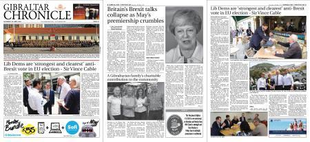 Gibraltar Chronicle – 18 May 2019