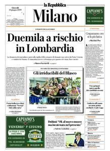 la Repubblica Milano – 13 giugno 2019