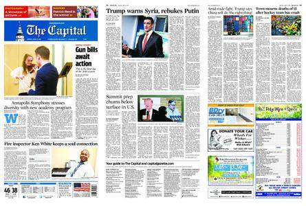 The Capital – April 09, 2018