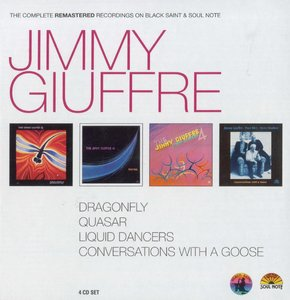 Jimmy Giuffre - The Complete Remastered Recordings On Black Saint & Soul Note (2012) {4CD Set Cam London BXS 1016 rec 1983-93}