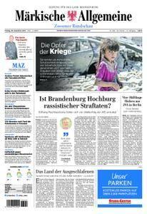 Märkische Allgemeine Zossener Rundschau - 29. Dezember 2017