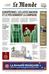 Le Monde du Mardi 26 Février 2019