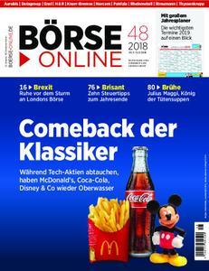 Börse Online – 29. November 2018