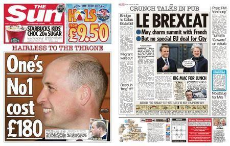 The Sun UK – 19 January 2018