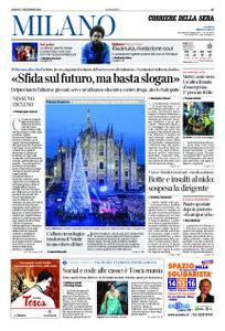 Corriere della Sera Milano – 07 dicembre 2019
