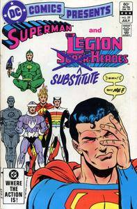 DC Comics Presents 059 Legion of Substitute Heroes