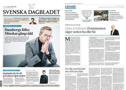 Svenska Dagbladet – 18 november 2019